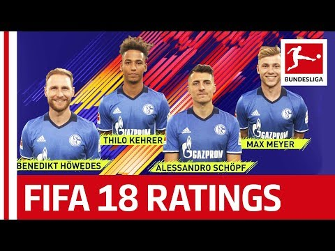 EA SPORTS FIFA 18 - FC Schalke 04 Players Rate Each Other