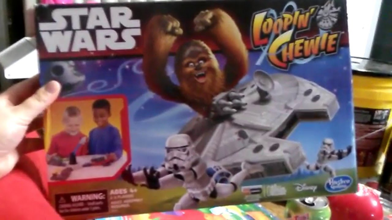 Star Wars Loopin /'Chewie famille Stormtrooper-Chasing Fun Chewbacca Enfants Jeu