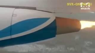 """У самолета Ан-148 компании """"Ангара"""" загорелся двигатель, пострадавших нет"""