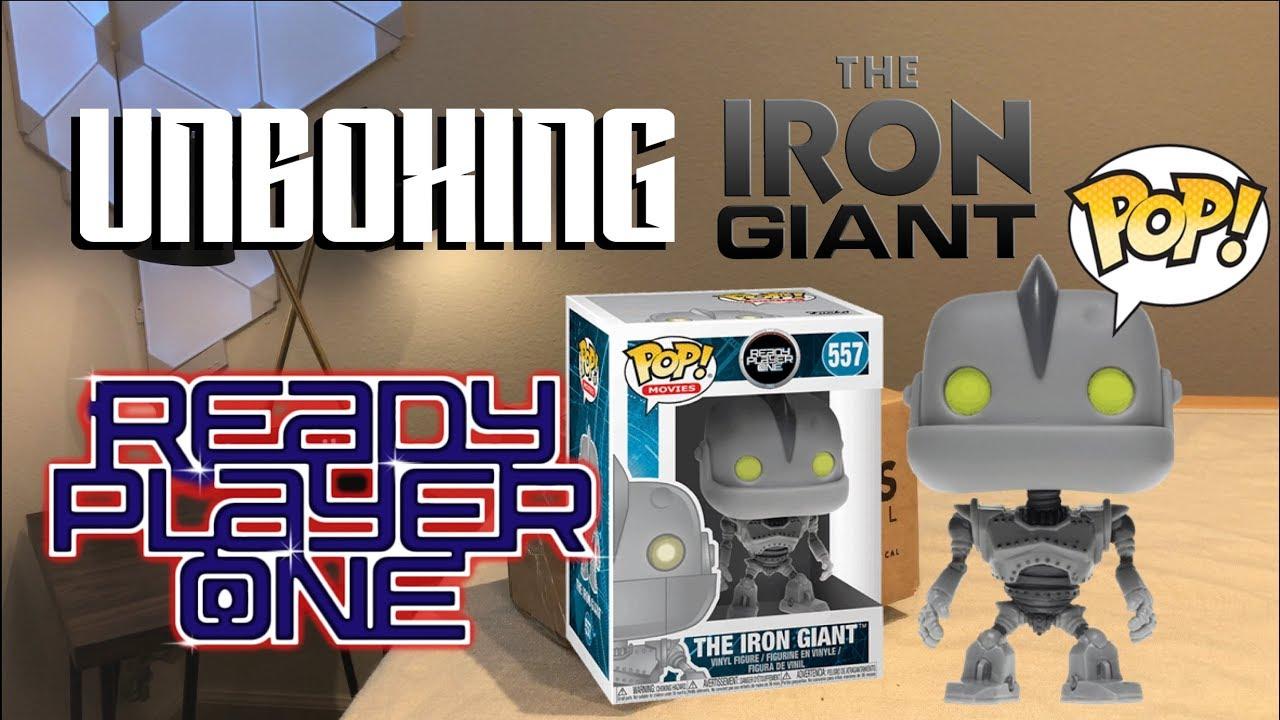 Ready Player One-Iron Giant Figure Funko Pop Movies