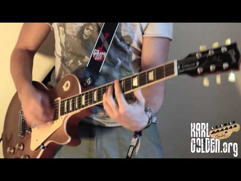 One Last Thrill – Instrumental Cover – SLASH – GUITAR/BASS/DRUMS – (Karl Golden)