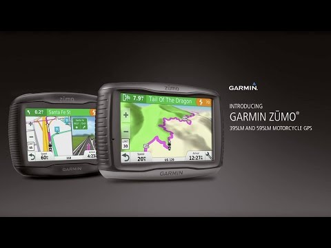 "Garmin zūmo 395LM/595LM: Motorcycle GPS Navigators ""Built to Thrill"""