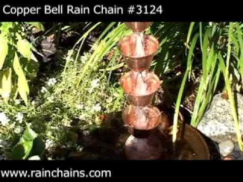 Rain Chains - Pure Copper Rain Chains
