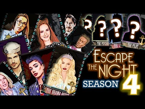 My SEASON 4 Cast | Escape the Night