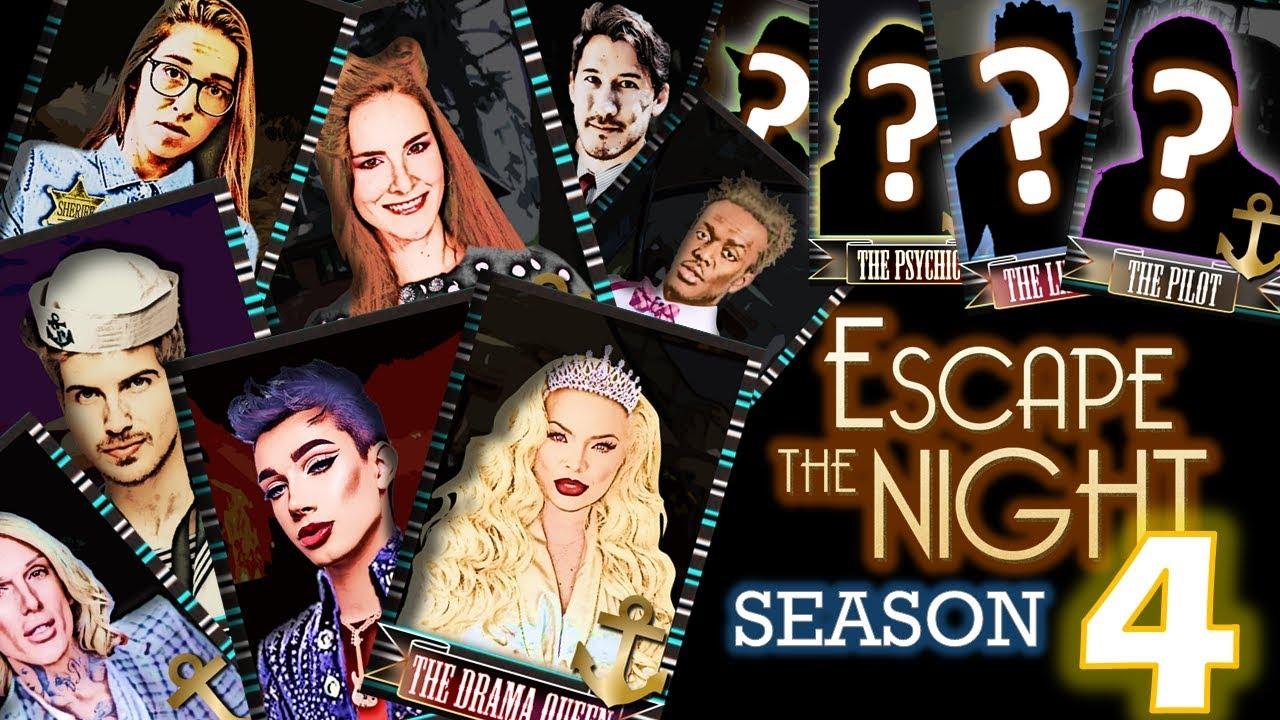 My SEASON 4 Cast | Escape the Night