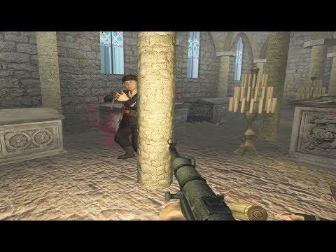 Call Of Duty 2 - Castle Wolfenstein Mod Gameplay - RtCW