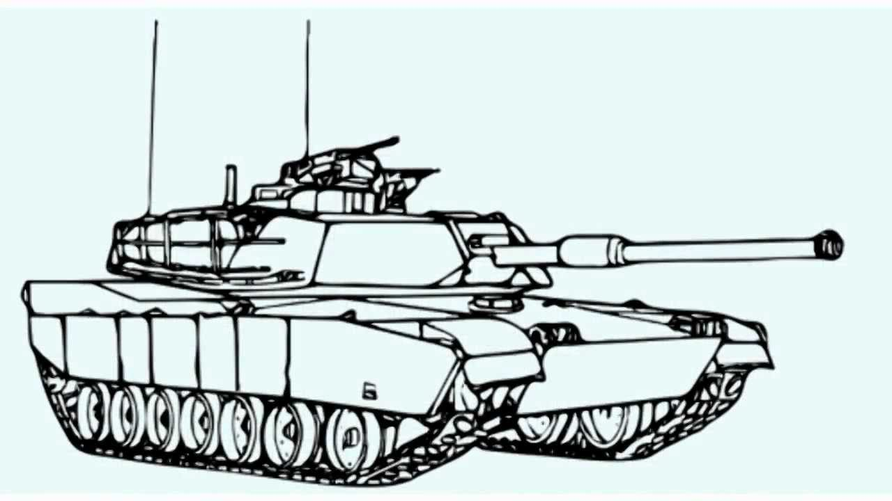 Uncategorized How To Draw A Military Tank how to draw a war tank youtube