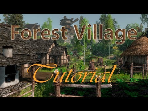 TUTORIAL how to get started - Life is Feudal Forest Village