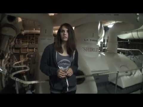 Elizabeth Saint Investigating the USS Hornet