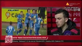 Dinamo - FC Botosani 1-2 Ce a declarat Dan Nistor