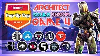 Architect Pop-Up 🥊Squad Customs🥊 Game 4 (Fortnite)