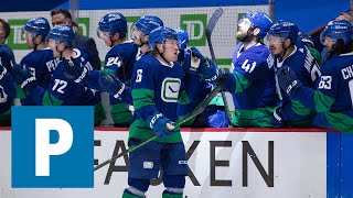 Coach Travis Green on Canucks 6-5 (OT) loss to the Calgary Flames | The Province