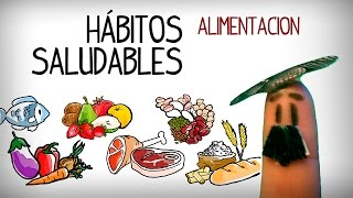 Learning food and diet vocabulary in spanish. talking about healthy eating habits intermediate conversation spanish sp...