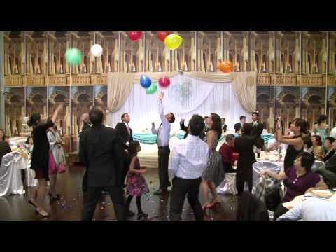 Funny Balloon Game | Wedding Reception in Toronto | Forever Video Toronto Videography Photography