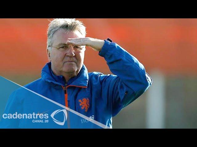 Guus Hiddink prevé un complicado partido contra México