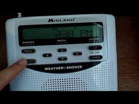 Midland WR-120EZ Weather Radio Review