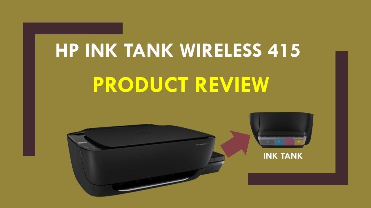 HP Ink Tank Wireless 410 | 415 | 418 | 419 : Printer review