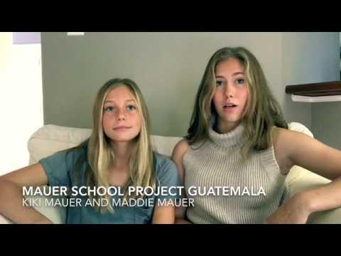 Mauer School Project Guatemala