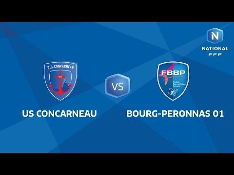J34 : US Concarneau - FBBP01 I National FFF 2018-2019