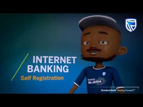 Standard Bank Internet Banking Self Registration