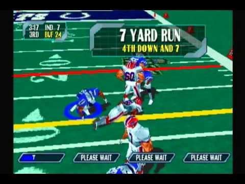 NFL Blitz 2000-Week #1-Colts VS Bills