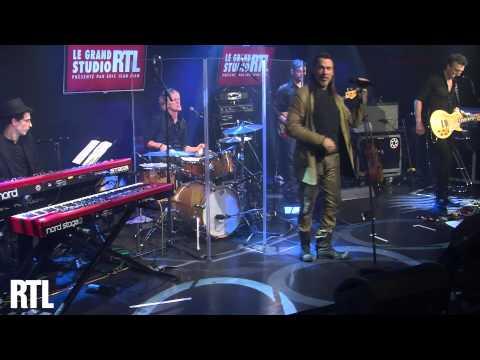 Florent Pagny - Châtelet les Halles en live dans le Grand Studio RTL