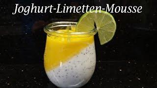 Thermomix®  TM31 - TM5 - TM6   Joghurt-Limetten-Mousse