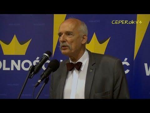 Janusz Korwin-Mikke w Kielcach 20.04.2018 część I