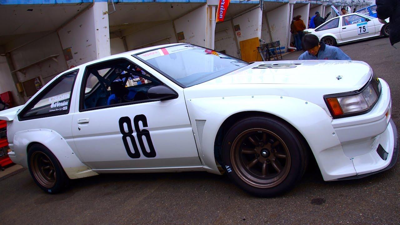 Trd Ae86 Race Car Part 1 Drift King Youtube