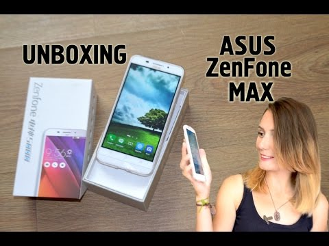 Телефон с AliExpress. Мой новый китайский друг Asus ZenFone Max. Распаковка. Обзор.