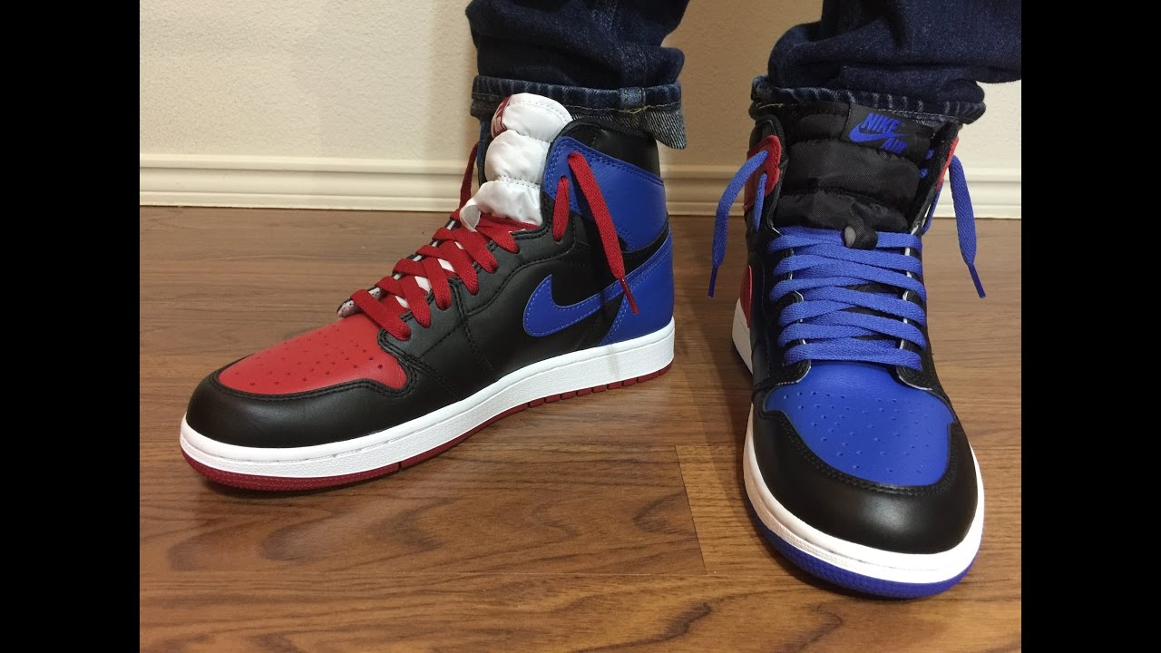 e6a328e4d866a6 Jordan Retro 1 TOP 3 unbox and on feet review - YouTube