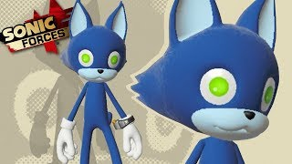 MY OWN SONIC CHARACTER IN GAME!? - Sonic Forces Gameplay