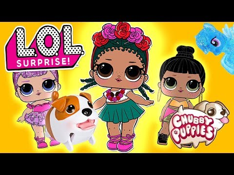 LOL Surprise Dolls Go Pet Shopping! Featuring Sugar Queen, Honeybun, Midnight, and My Little Ponies!