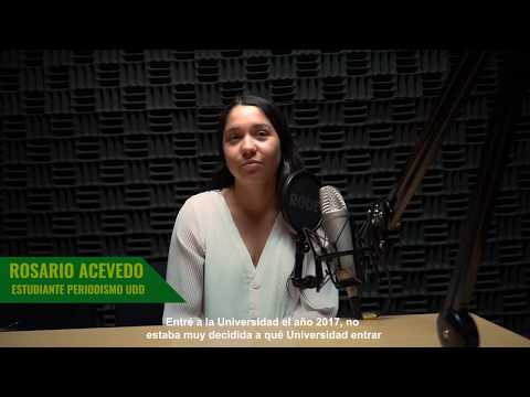 Rosario Acevedo: Estudiante UDD