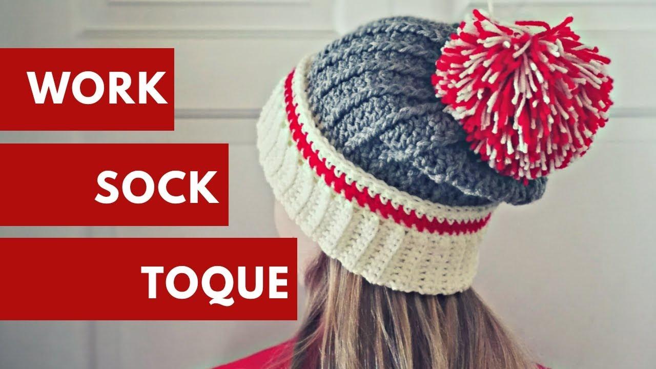 Work Sock Hat - YouTube c75f4866638