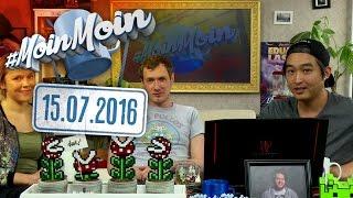 #MoinMoin mit Budi, Mareike Ottrand&Christian Schiffer | Games: Gewalt, VR, Trends  | 15.07.2016