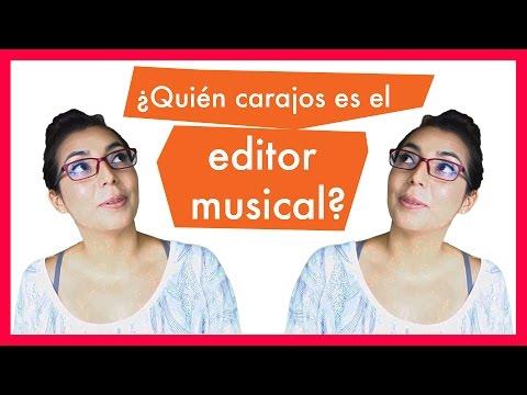 La estructura de la industria musical: Quién carajos es el editor musical?