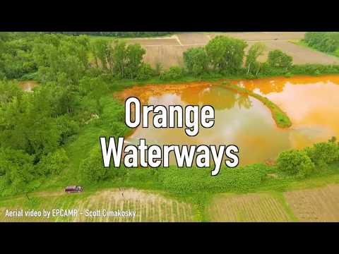 Why Is The Water Orange? Abandoned Coal Mines In Northeastern Pennsylvania Discharge Tainted Runoff
