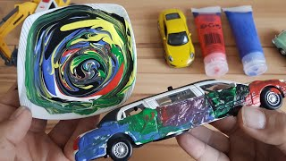 Crush a Car with a Dlan Excavator Cars Coloring for Kids