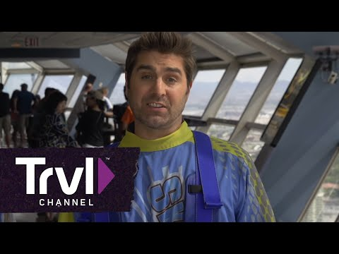 """""""THRILL FACTOR: Kari Byron & Tory Belleci Free Fall 108 Stories off the Stratosphere"""