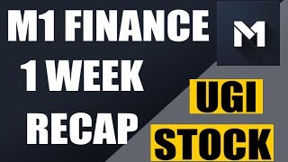 3 Stocks I'm Buying (Tuesday) On M1 Finance - 13 Jan 2020, #UGI Valuation & Comparison