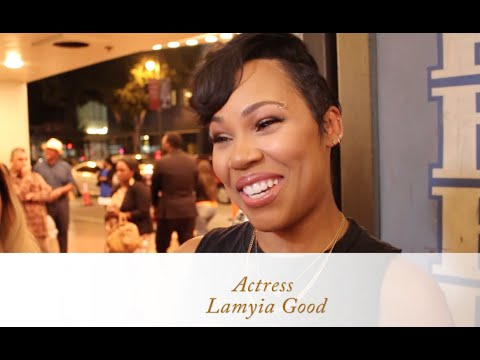 Lamyia Good Talks Acting & Being a New Mommy