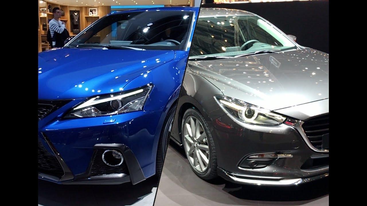 Mazda 3 Vs Lexus Ct 200h