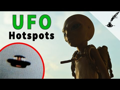 5 Best Places to See An Alien UFO