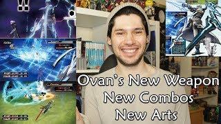 Ovan's NEW Form/ Weapon Transformation, Combos & EXCLUSIVE Arts | .Hack//G.U. Last Recode News