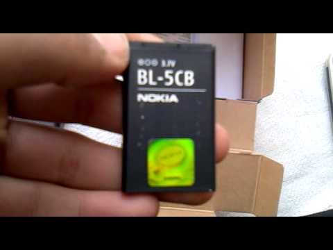 Unboxing Nokia 1800 Mobile phone.