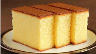 Simple vanilla sponge cake recipe