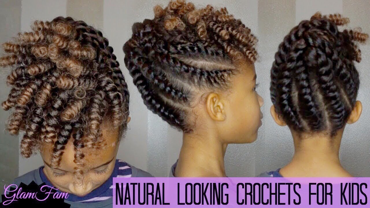 5 Simple Easy Braid Style Tutorials For Little Girls Voice Of Hair