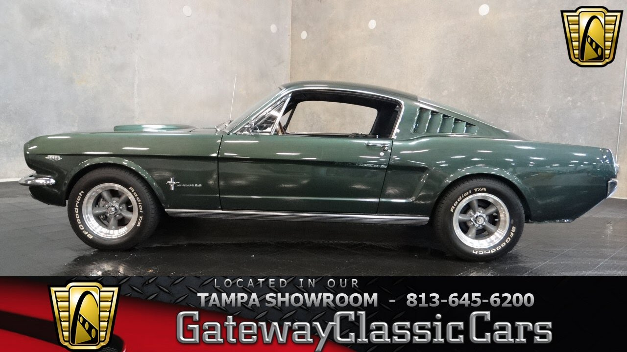 1965 ford mustang 2 2 fastback youtube rh youtube com