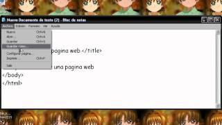 como hacer una pagina web simple